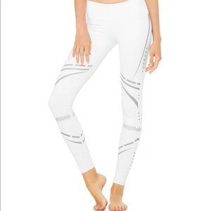 Aloyoga reflective chakra leggings